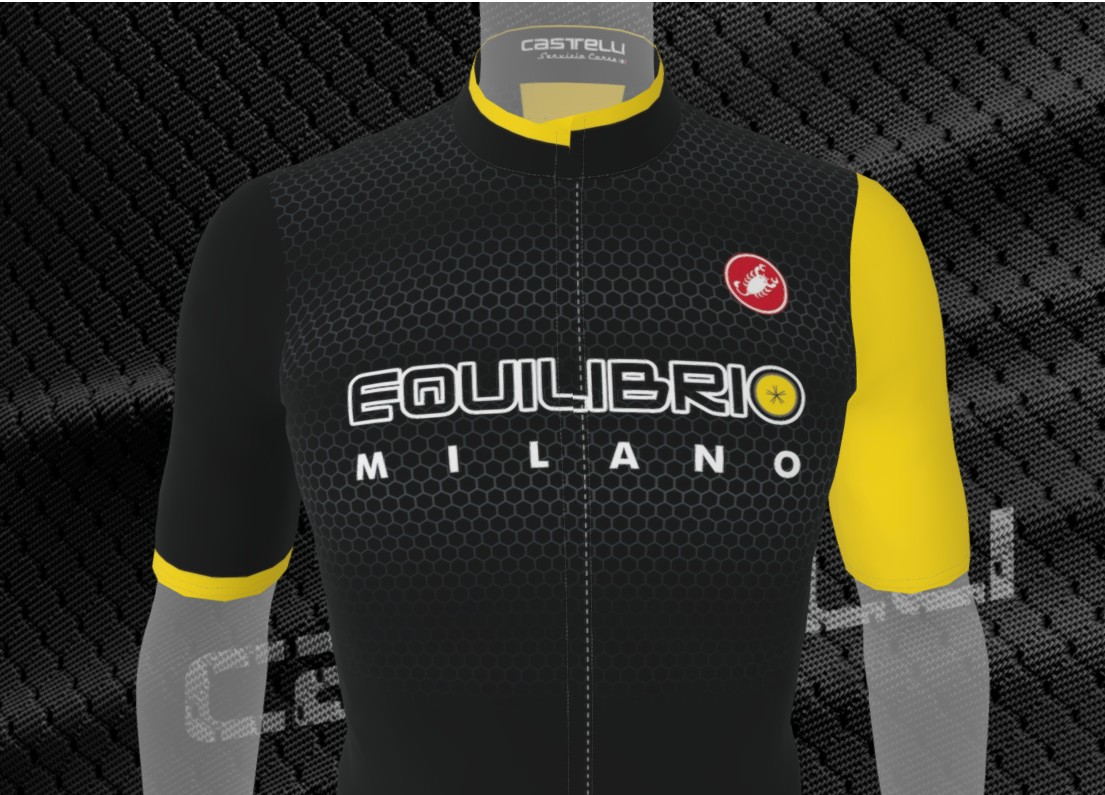 nuova maglia team Equilibrio Urbano Milano 2019